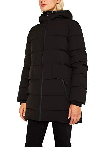 ESPRIT Damen 109Ee1G017 Jacke, Schwarz (Black 001), X-Large (Herstellergröße: XL)