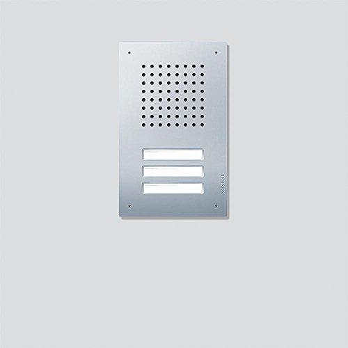 Siedle 4067560 Türstation Audio Unterputz, 3T, Bus, Classic CL A 03 B-02, Edelstahl