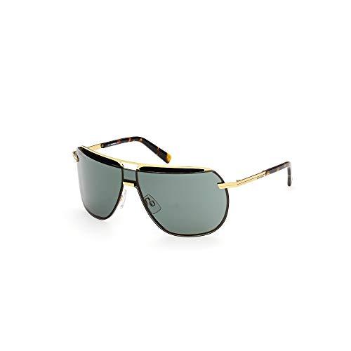 DSQUARED2 Gafas de sol DQ0352 30N 133-00-130 unisex oro carga brillante lentes verde