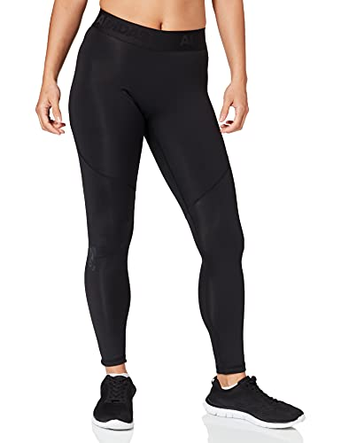 adidas Mens Alphaskin Sport Long Tights, Black, L