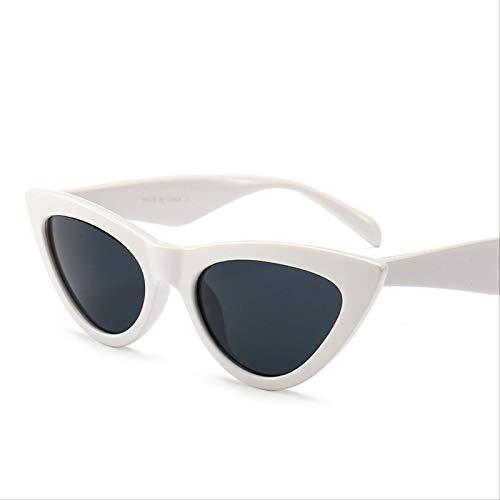 ODNJEMSD Gafas De Sol De Ojo De Gato Gafas De Sol De Mujer Triángulo De Piernas Anchas Gafas De Sol