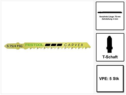 Preisvergleich Produktbild Festool Stichsägeblatt S 75 / 4 FSG / 5 204316