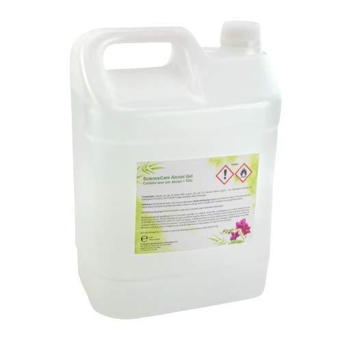 PACK 2x Garrafa Gel hidroalcohólico desinfectante 70% alcohol 5 litros | Fabricación UE