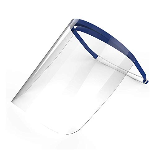 Full Face Shield with Visor | For Medical, Dental, or Personal Protection | Recommended for Single Use | Durable, Lightweight, and Comfortable | One Shield