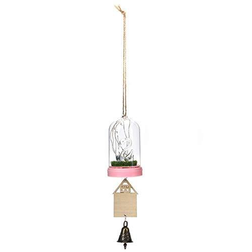BDWS Dreamcatcher Het meubilair is versierd met lichtgevende bell-led koperen draad lamp met lamp bel opknoping creatieve geschenken