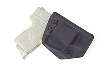 Fast Draw USA - Compatible with Kahr PM9 CM9 IWB Kydex Holster Inside Waistband Concealed Carry Holster Made in USA  Black-Right Hand
