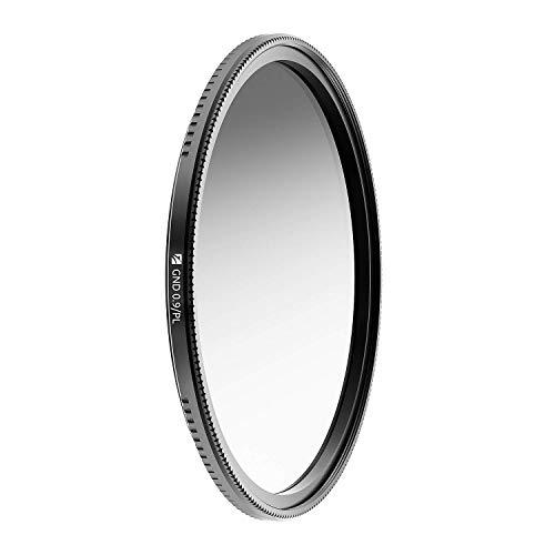 Freewell Magnetisches Schnellwechselsystem 72 mm Soft Edge Gradient ND0.9/PL (GND8/PL) Hybridkamerafilter