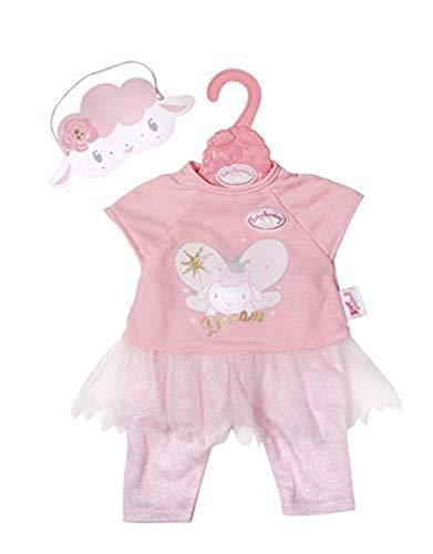 Zapf Creation 702048 Baby Annabell Sweet Dreams Nachtfee 43cm, rosa