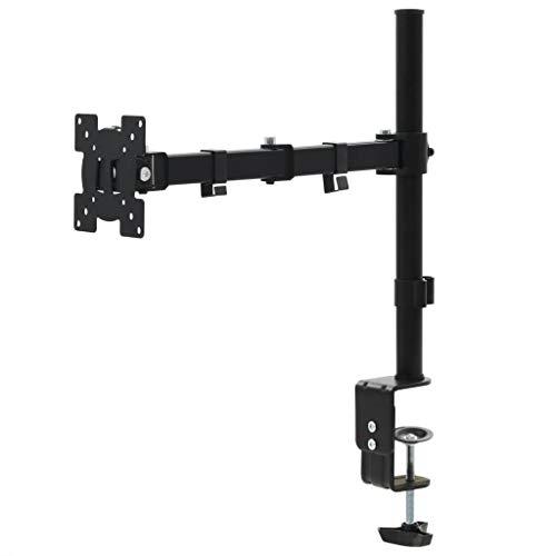 SHUJUNKAIN Soporte Monitor o TV de 32' para Montar en Mesa de Escritorio Electrónica Vídeo Accesorios de vídeo Accesorios y Piezas para televisores Soportes para monitores y televisor Negro