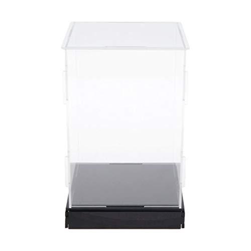 Hellery Caja de Presentación de Acrílico Grande a Prueba de Polvo Muñeca Modelo de Coche Vitrina 40x30x40cm