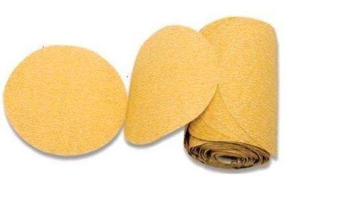 Karebac LR6C320 PSA Sanding Discs C Weight Gold Stearated Aluminum Oxide (100/roll), 6