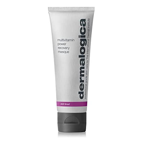 Dermalogica Multivitamin Power Recovery Masque (2.5 Fl Oz) Anti-Aging Face Mask with Vitamin C & Lactic Acid - Restore and Repair Stressed, Aging Skin