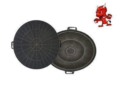 Filtre à charbon actif Filtre Filtre à charbon pour hotte Hotte Bomann du615, du617, du617g