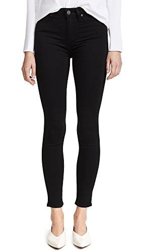 PAIGE Denim Women's Transcend Margot Ultra Skinny Jeans, Black Shadow, 23