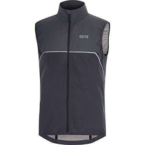 GORE WEAR Herren R7 Partial GORE-TEX INFINIUM Weste Vests, black/terra grey, XL