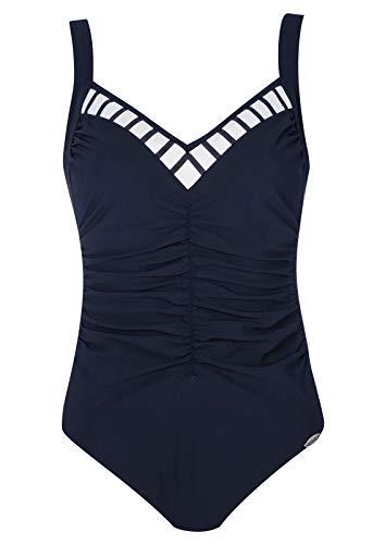 Sunflair Badeanzug Basic Cup E, Farbe Nachtblau, Größe 44