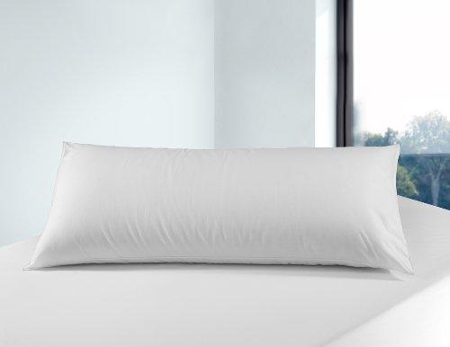 Savel - Almohada antiácaros, 90 cm, blanco