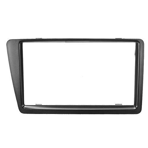 PeroFors 2Din Surround Cd-Blende Auto-Stereo-Panel-Platte Für Honda Civic Ep2 Ep3 2001-2006 Rechtslenker - Schwarz