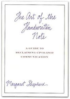 Crane Art Of The Handwritten Note Book