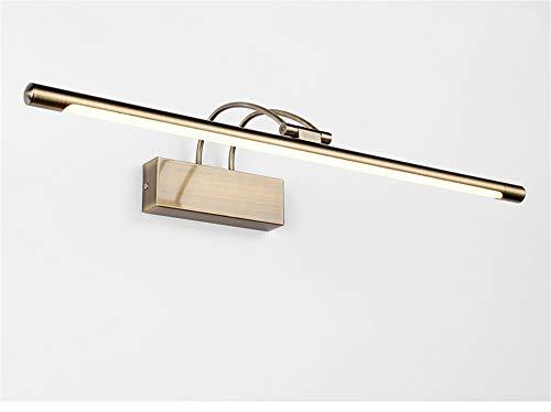 Wandlamp binnenwandlamp met zwenkarm in de badkamer verbluffende moderne led-spiegelschakelaarbevestigingen beklede legering huisleven