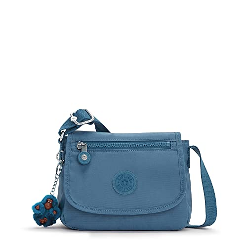 Kipling Sabian Mini Crossbody Bag-Small Cross Body Purse, Delicate Blue