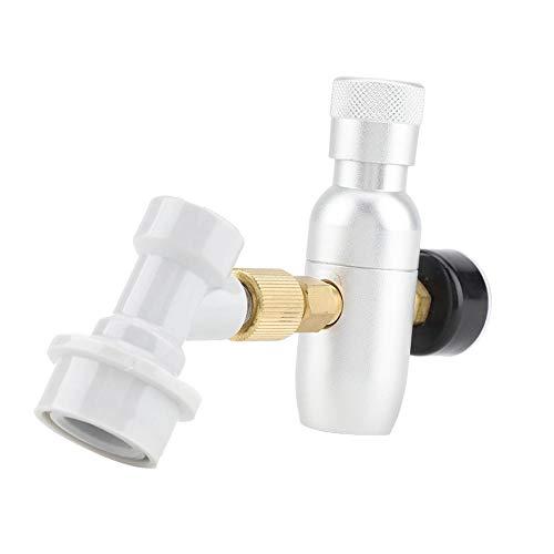 Homebrew CO2 Regolatore Caricatore 16g Kit Gas Disconnect Home Bozza Birra Kegerator per Birra Artigianale Birra Alla Spina Kegerator Soda(0-150PSI)