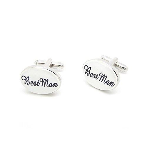 Label-Cravate Boutons de manchette Best Man