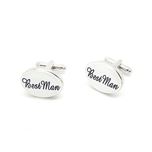 Label-Cravate Boutons de manchette Best Man