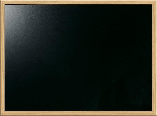 Board Dudes Pizarra de tiza de 43 x 58 cm. (17 x 23 pulg.) con marco estilo roble (CXM80)