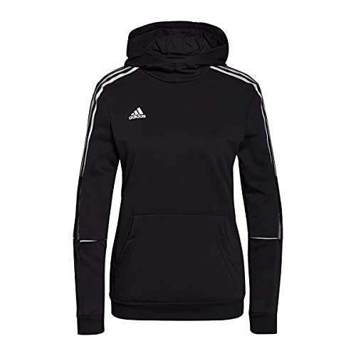 adidas Tiro Hoody R W Sweatshirt, Black, S Women's