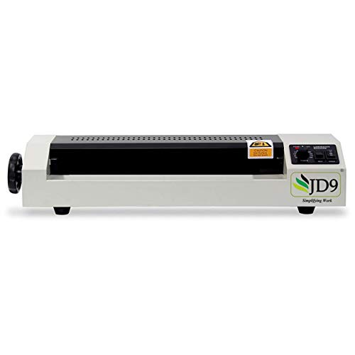 JD9 Lamination Machine- Fully Automatic Professional Laminating Machine/Laminator for Upto A3 Size with Hot and Cold Lamination(Photos ID,I-Card,Certificate).