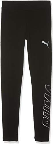 PUMA Mädchen Alpha Leggings G Sporthose, Cotton Black, 152