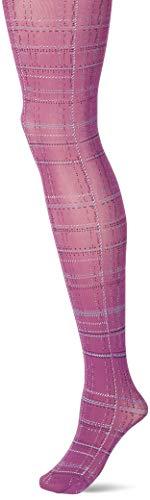 FALKE Damen Country Glam Strumpfhose, lila (ultraviolett 8295), M