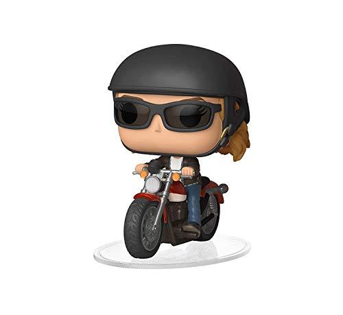 Funko 36418 POP! Ride Marvel: Captain MarvelCarol Danvers On Motorcycle, Multicolor