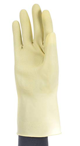GUANTE LATEX NATURAL CLORINADO BEIGE 9