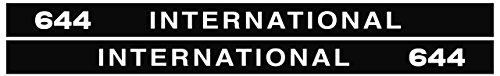 IHC Aufkleber international 644 Logo Emblem Sticker Label lang