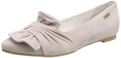 bugatti Damen 411434603400 Geschlossene Ballerinas, Pink (Rose), 38 EU
