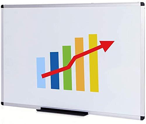 Viz-Pro magnétique Tableau blanc/tableau effaçable à sec, 120 x 90 cm, cadre aluminium argenté