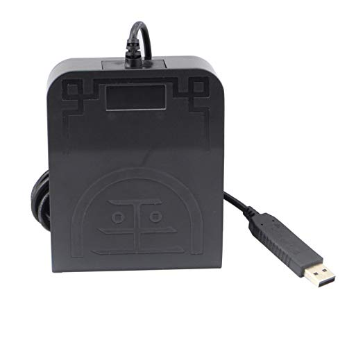 OLLGEN USB Foot Pedal Mechanical Switch Control One Key Program Computer Keyboard Mouse String Game Macro MIDI Cotroller Action HID (Single Pedal)