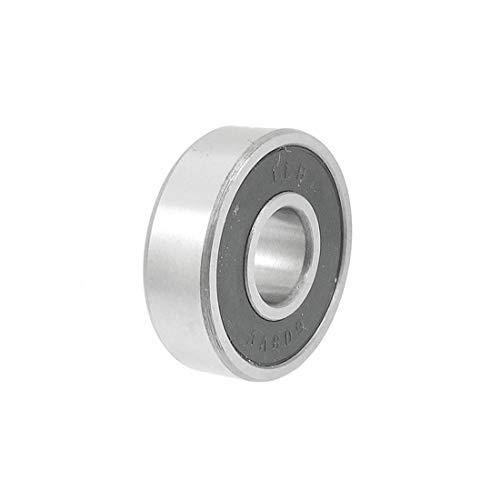 Rodamiento rígido de bolas DealMux de goma de 8 mm x 22 mm x 7 mm para amoladora angular 608