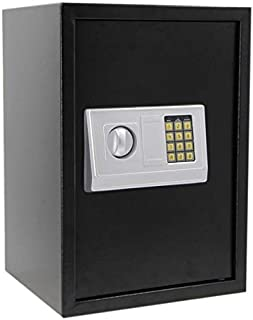 Rubik Safe Box Large for Home Office with Digital Combination Safe Lock and Emergency keys, Fire Resistant (Size 50x35x30c...