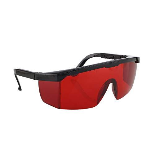 Gafas de protección láser para IPL/E-light OPT Punto de congelación Depilación Gafas protectoras Gafas universales Gafas (rojo) ESjasnyfall