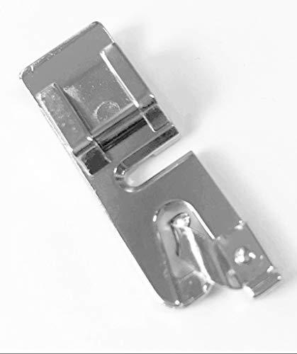 Rollsaumfuß Nähfuß 2mm für AEG Nähmaschinen 122, 1714, 145DL, NM 122X, NM 220; 11220, 11227, 11680