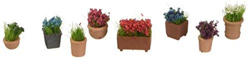 Noch 14031 - Blumen in Blumentöpfen