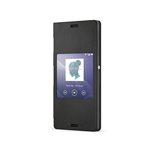 Sony BT-SOSCR26B Smart Cover per Xperia Z3 Compact, Nero