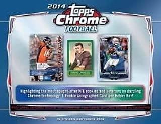 2014 topps chrome football box