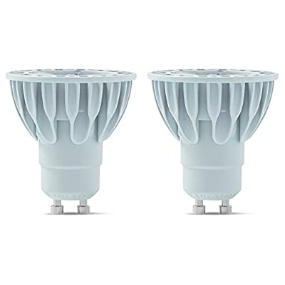 SORAA Healthy for Better Sleep 2-Pack MR16 GU10 LED Dimmable 425-Lumen Soft White (2700K), 50-Watt Equivalent No Buzz Light Bulb, 36 Degree Beam Angle for Track and Directional Lighting