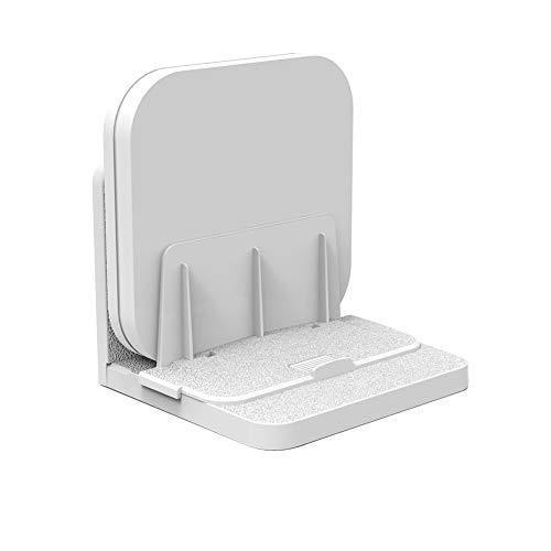 LIXUDECO Gabinete de TV Estable Oficina Router Media Players Inicio Universal Soporte TV Caja de TV Soporte Ángulo Ajustable Sala de Estar Dispositivo pequeño Montado en la Pared Mueble