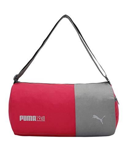 PUMA unisex-adult PUMA Gym Bag IND I SPARKLING COSMO-CASTLEROCK Luggage- Garment Bag-X