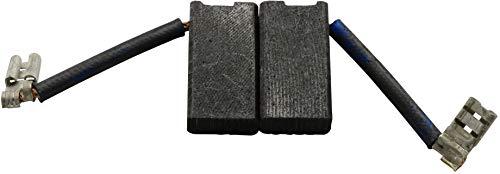 Escobillas de Carbón para DEWALT DW479 amoladora - 6,3x12,5x23,5mm - 2.4x4.7x9.1